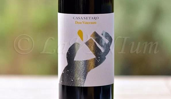 Lacryma Christi del Vesuvio Rosso Don Vincenzo 2014 Casa Setaro