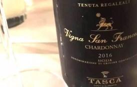 VINerdì IGP: Sicilia Chardonnay Vigna San Francesco 2016 Tenuta Tasca d'Almerita Regaleali