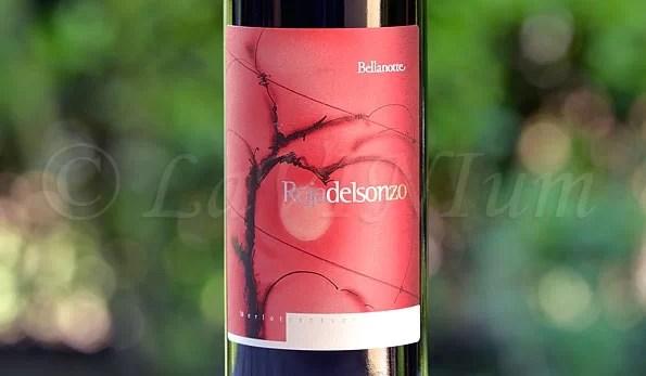 Friuli Isonzo Merlot Roja de Isonzo 2013 La Bellanotte