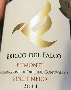 Piemonte Pinot Nero Bricco del Falco 2014 Isola della Croce