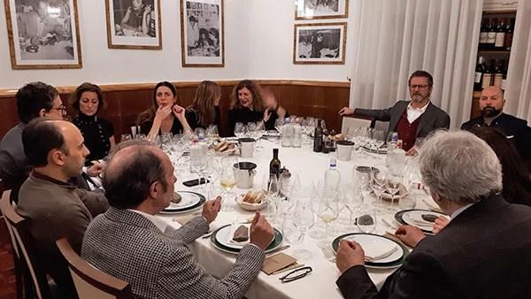 Cena con Martin Foradori da Alfredo alla Scrofa
