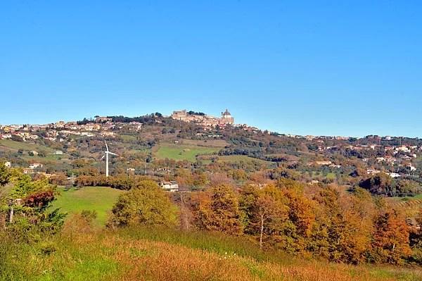 Veduta su Montefiascone