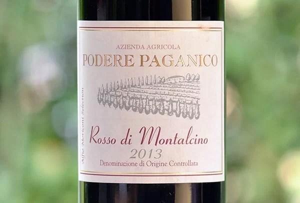 Rosso di Montalcino 2013 Podere Paganico