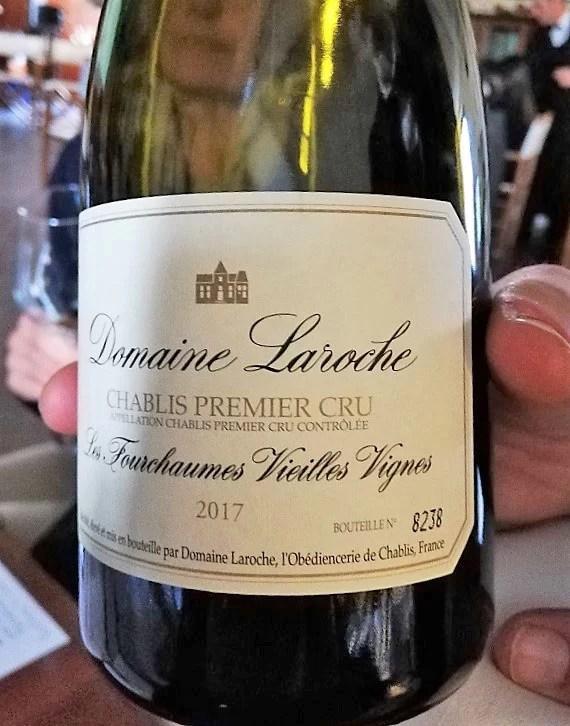 Chablis Premier Cru Les Fourchames Vieilles Vignes 2017
