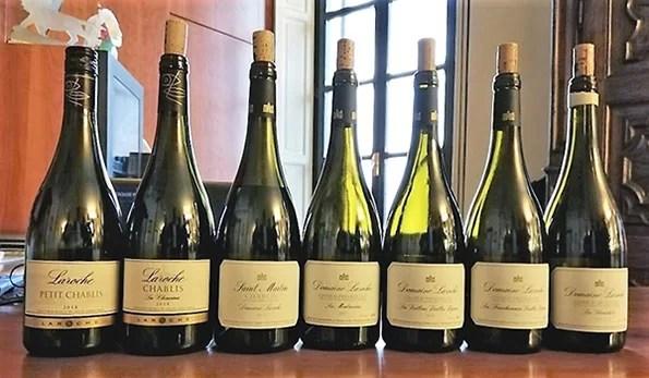 Bottiglie Domaine Laroche