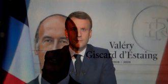 GISCARD - MACRON