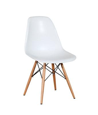 eames chair white z shaped high plastic side dowel miami event tables lavish legs