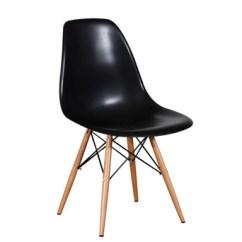Eames Bucket Chair Hanging Pier One Plastic Side Black Dowel Miami Event Tables Lavish Legs