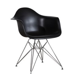 Black Eames Chair Swing In Room Plastic Arm Wire Miami Event Tables Lavish Legs