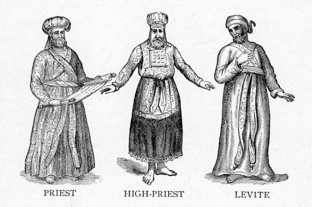 Garments of the Priests and Levites