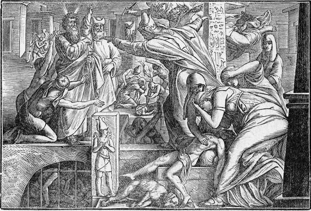 Death of the Firstborn of Egypt Exodus 12:29