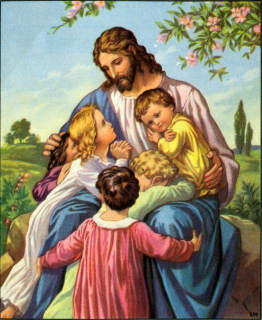 Jesus Inviting Children to Come to Him Matthew 19:14