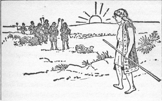 Joseph checks on his brothers Genesis 37:18