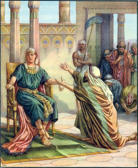 Joseph accuses his brothers of being spies Genesis 42:18-24
