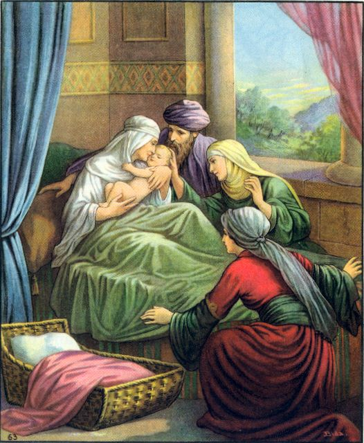 Shiphrah and Puah allow Israelite children to be born Exodus 1:15-17