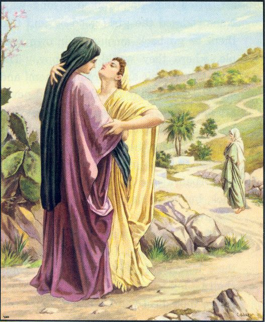 Ruth refuses to leave Naomi Ruth 1:6-14