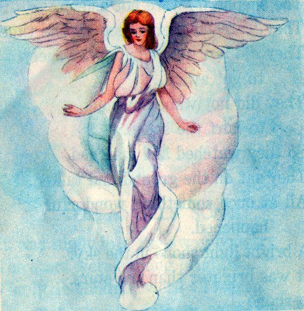 An Angel Stood Before them Luke 2:9