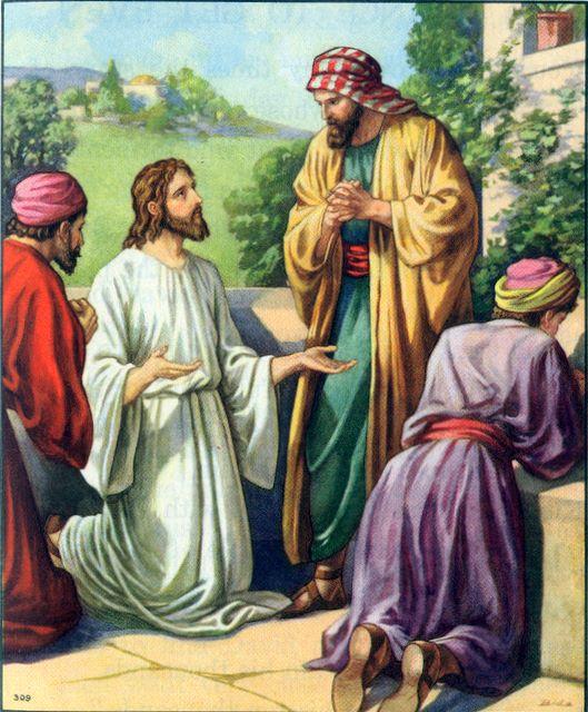 Jesus teaches his disciples to pray Luke 11:1-13