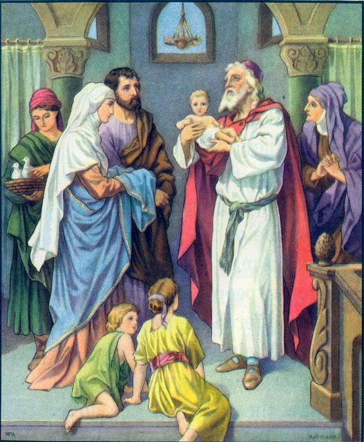 Simeon Sees the Messiah Luke 2:27-28