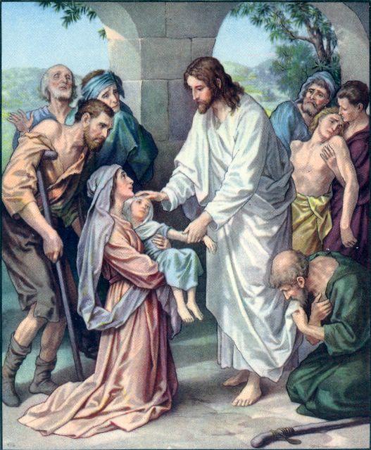 Jesus Heals the Sick Matthew 9:35