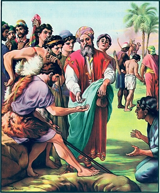 Joseph is sold into slavery by his brothers Genesis 37:25-28