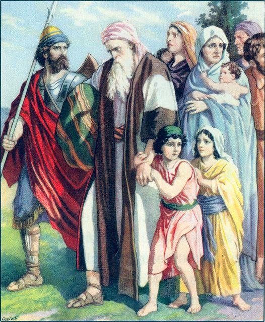 The Israelites are Sent into Captivity Jeremiah 27:19-20
