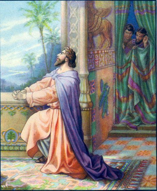 Daniel Prayed as Was His Custom Daniel 6:10