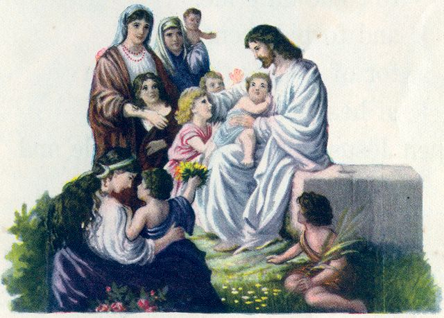 Jesus With the Children Mark 10:13-14