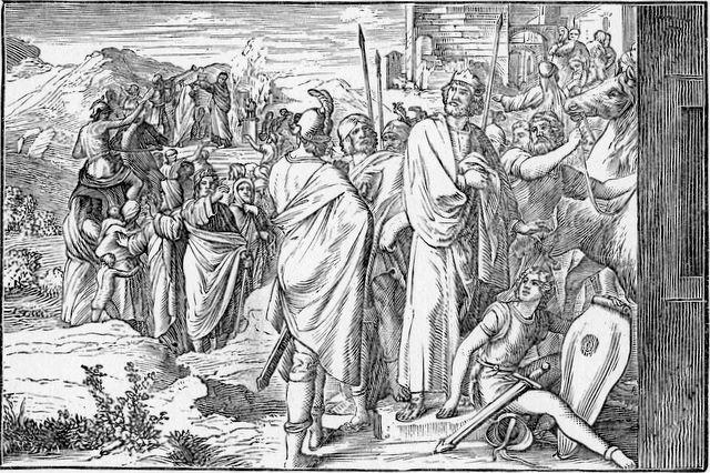 Rehoboam causes a revolt I Kings 12:16-17