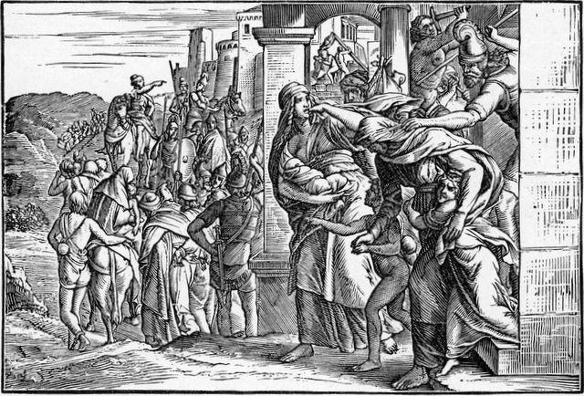 Jerusalem besieged by Babylon and people taken captive II Kings 25:11