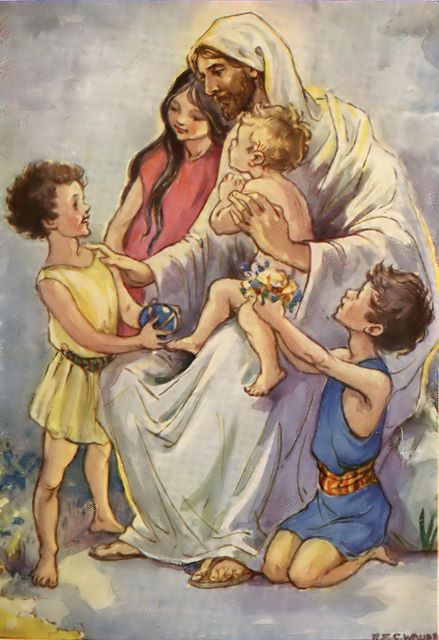 """Let the little children come to me"" (Matthew 19:14)"