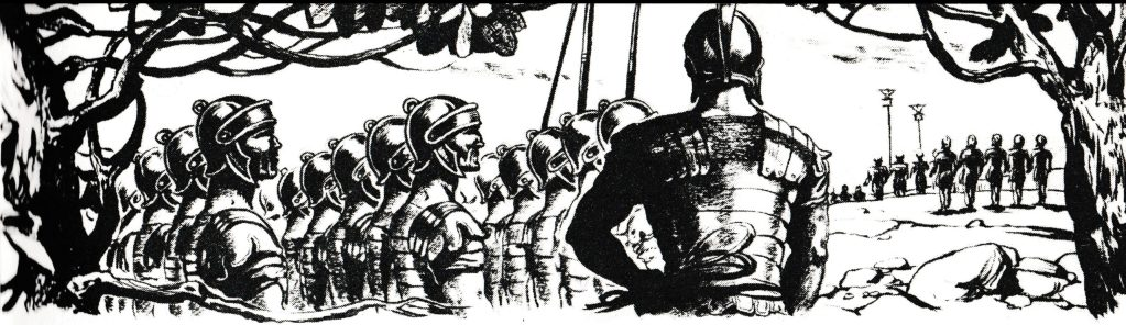 The Roman Army may come (John 11:48)