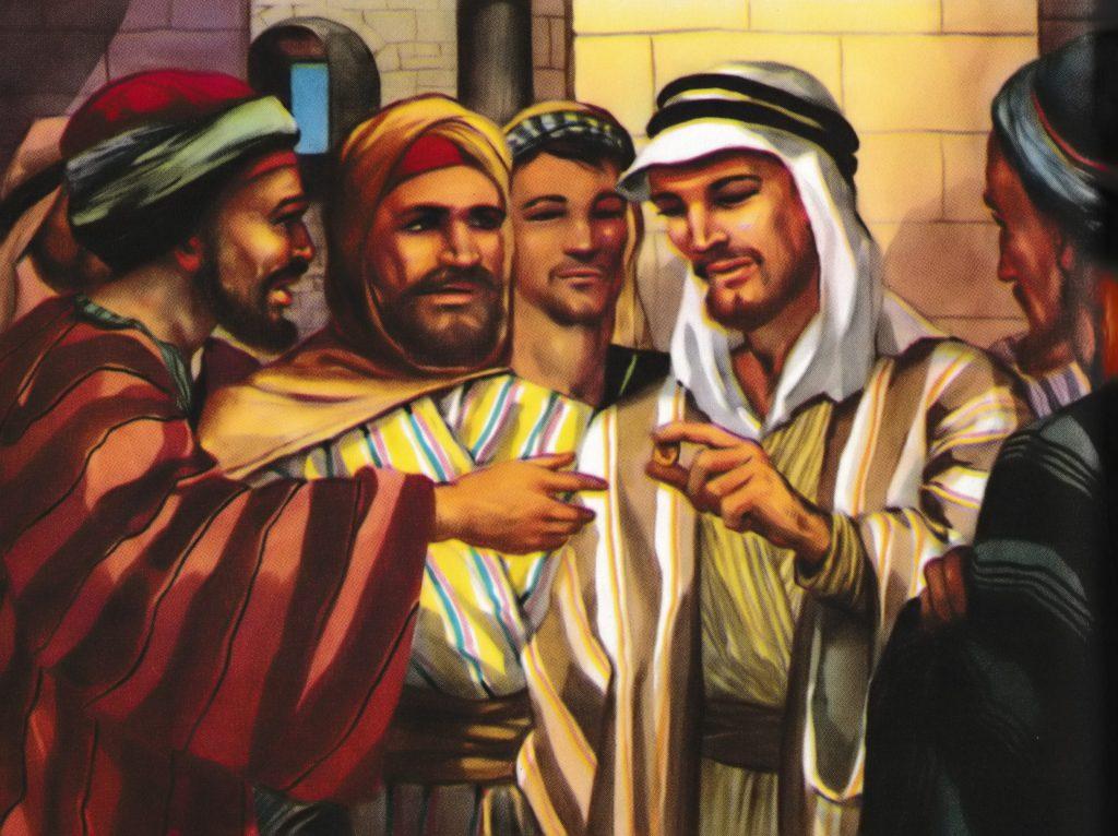 Paying Taxes (Matthew 22:19-22)