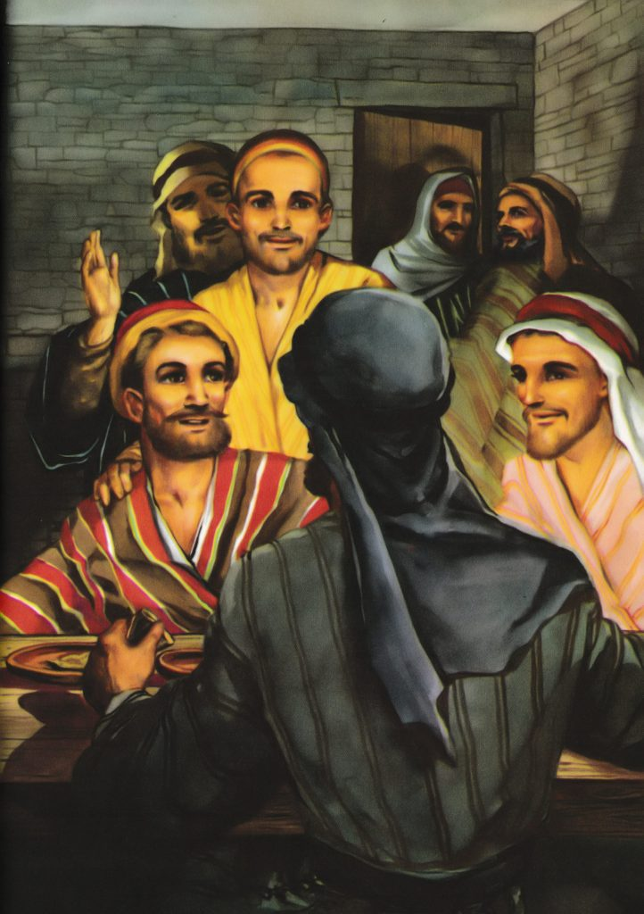 Jesus appears to the disciples (John 20:19-23)