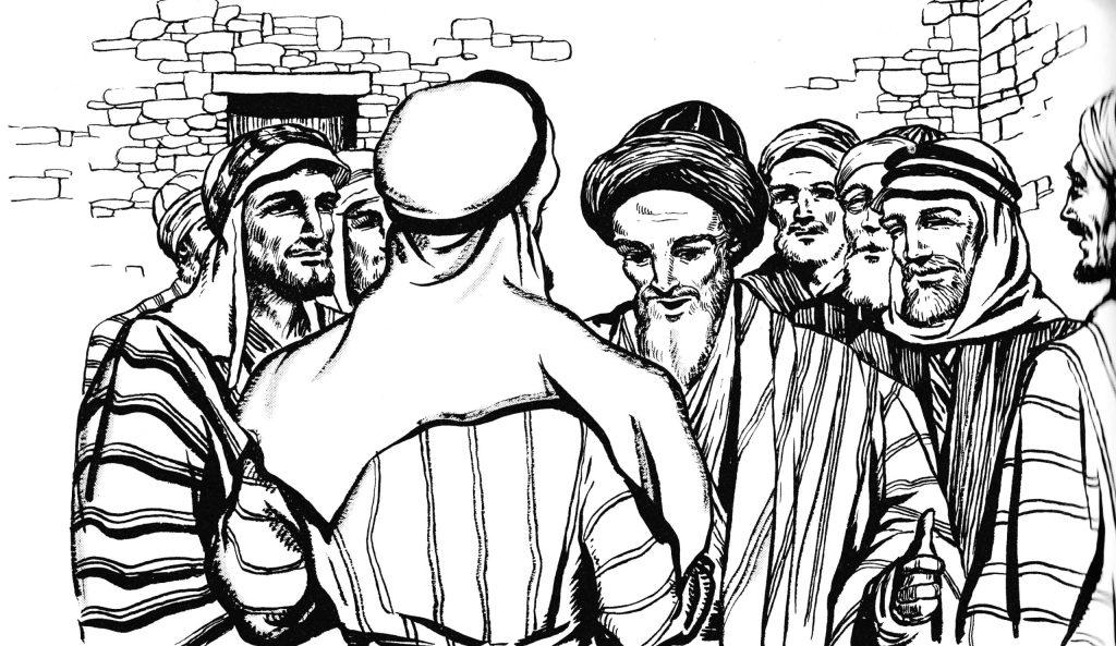 Jesus appears to Thomas (John 20:26-29)