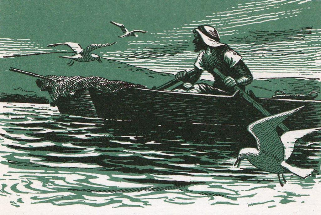 He got into a boat that belonged to Peter (Luke 5:3)