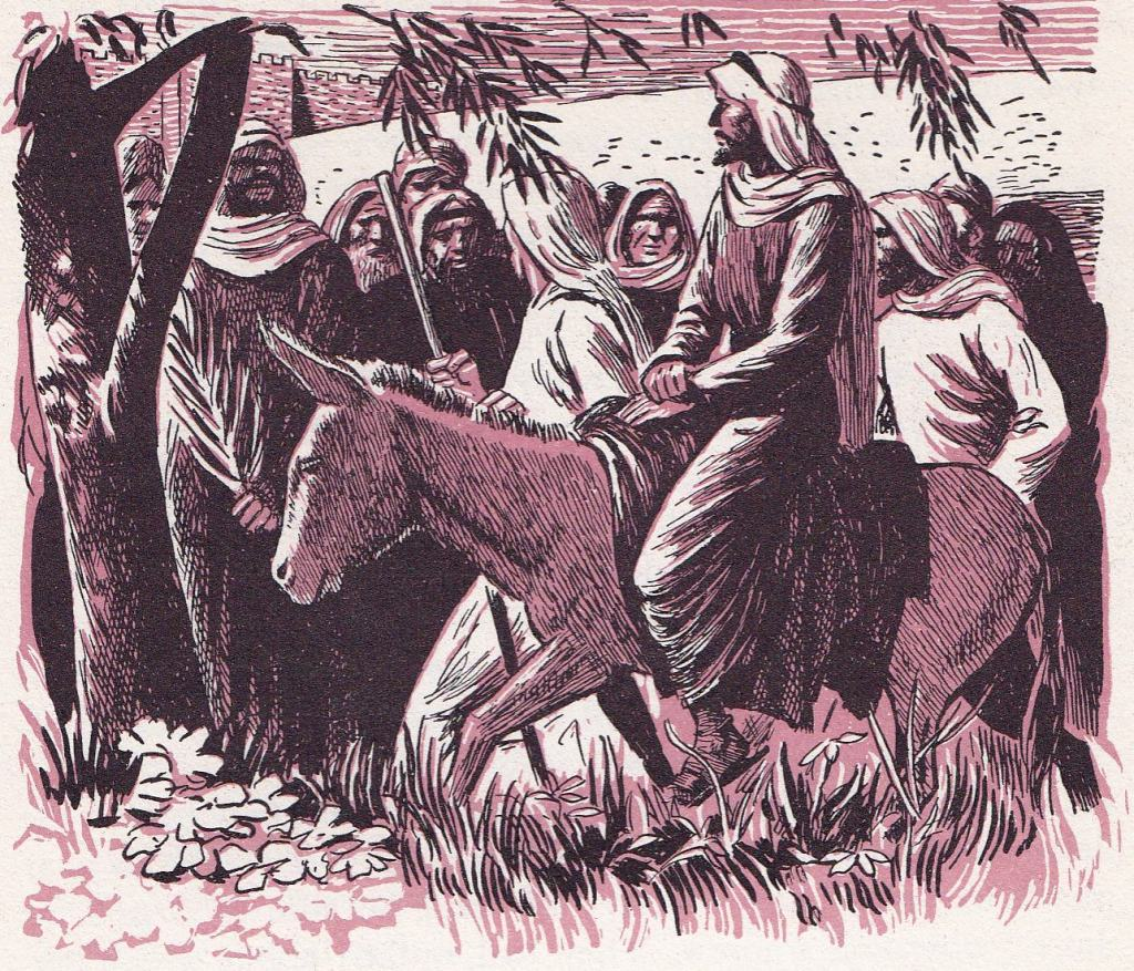 The King Comes Riding a Colt (Matthew 21:5)
