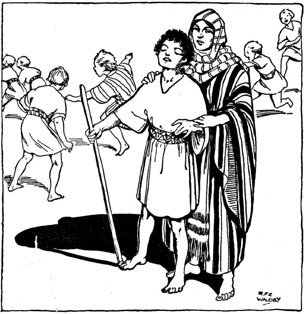 Growing up blind in Jerusalem (John 9:20)