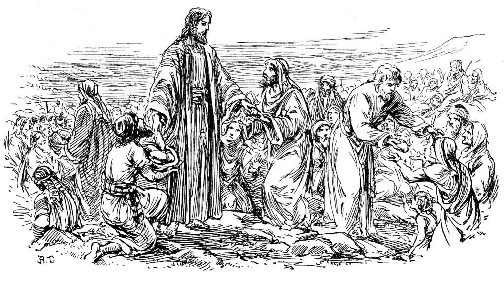 The feeding of the four thousand - Matthew 15:36