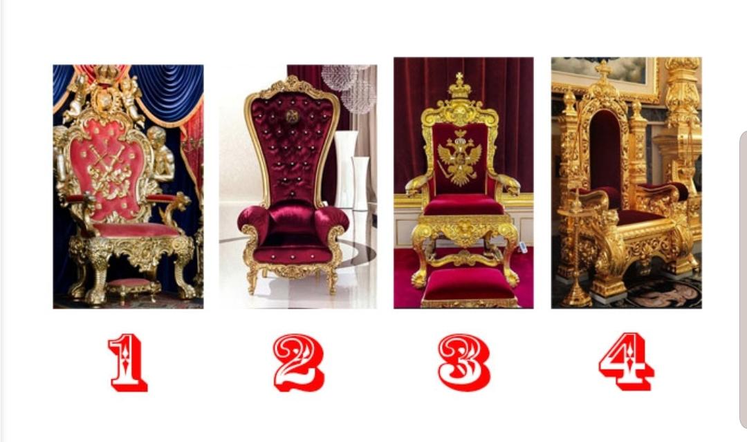 Scegli il tuo trono e scopri che tipo di Regina sei!
