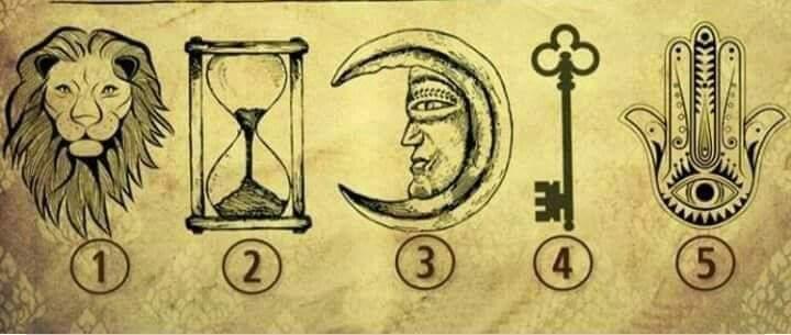 Scegli un simbolo e ricevi un messaggio