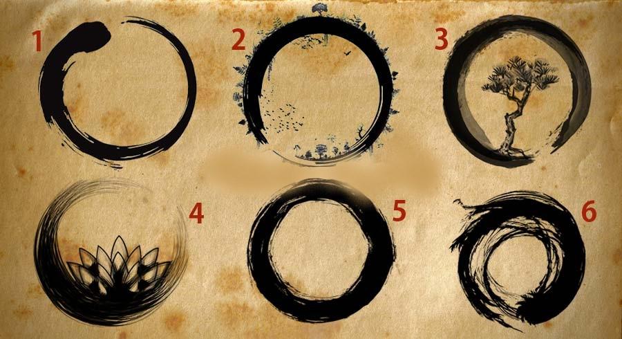 Il test psicologico del cerchio, quale scegli?
