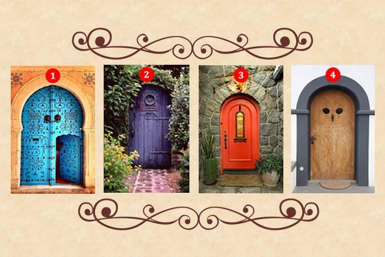 Scegli una porta e scoprirai la tua vera personalità