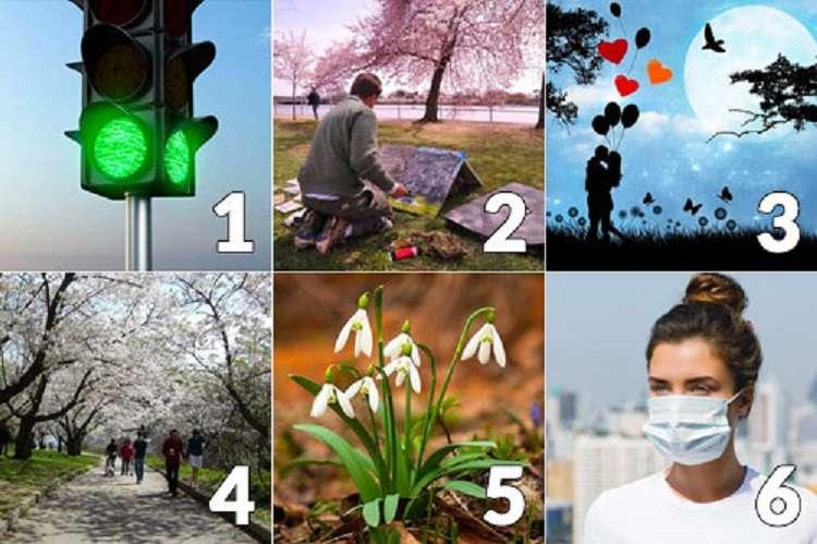 Scegli una foto intuitivamente e scopri cosa ti attende ad Aprile