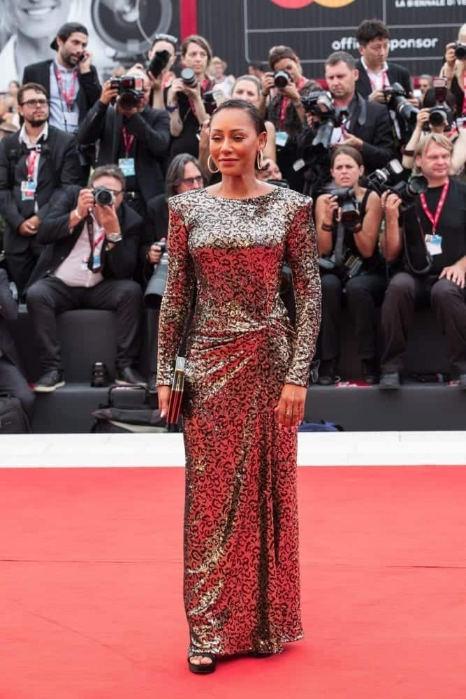 Melanie Brown in Manila Grace sul red carpet del Festival del Cinema di Venezia 2019