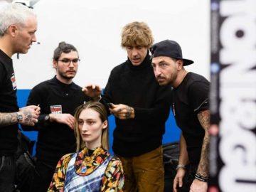 Toni&Guy Hairstyle sfilata Arthur Arbesser AI 2020-21 Milano Fashion Week