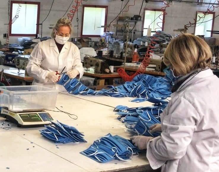 Inglesina riconverte la produzione per produrre le mascherine