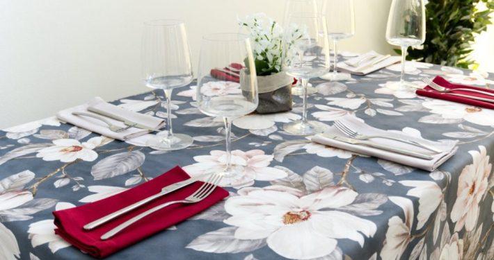 Nuova collezione toglie da tavola Wosde Tessuti di Toscana