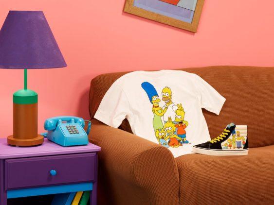 Vans collezione scarpe e abbigliamento I Simpson