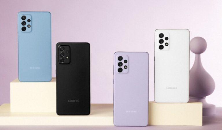 Oggi il lancio dei nuovi telefoni Samsung Galaxy A52, A52 5G e A72.  Immagini e prezzi